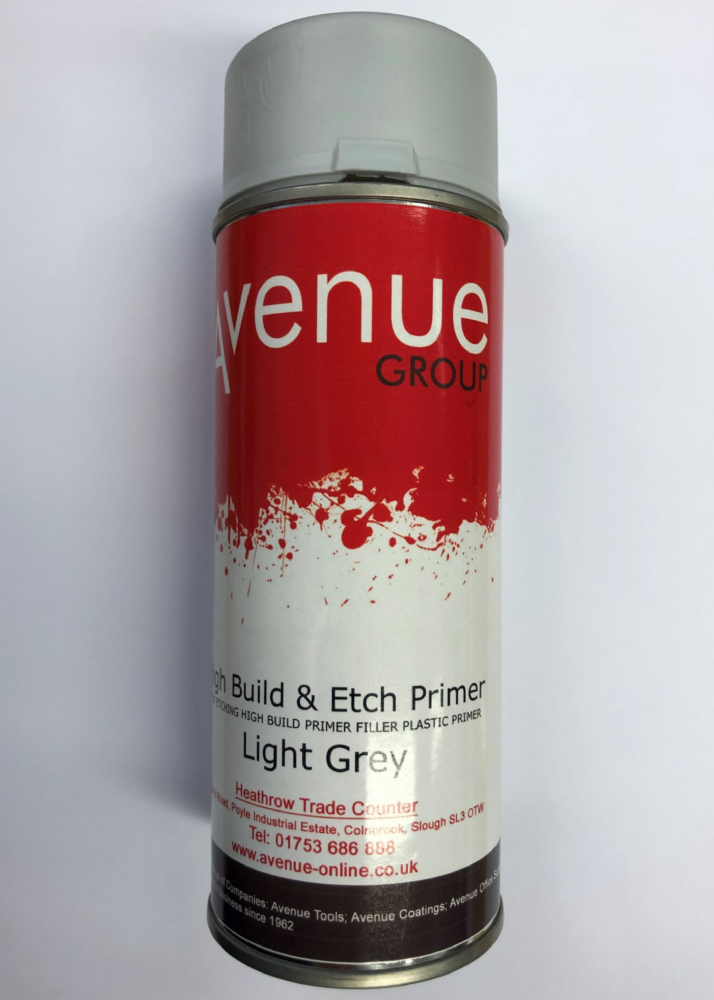 Avenue Primer Aerosol Light Grey 400ml